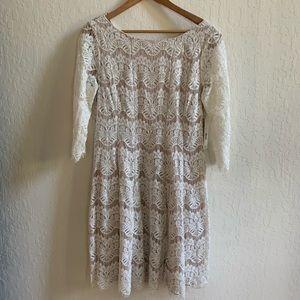Eliza J Lace Dress (Women's sz 16)